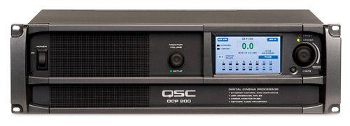 qsc Цифровой кинопроцессор QSC Cinema DCP 200