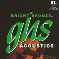 Струны GHS Strings BB80 12-STR BRIGHT BRONZE - JCS.UA