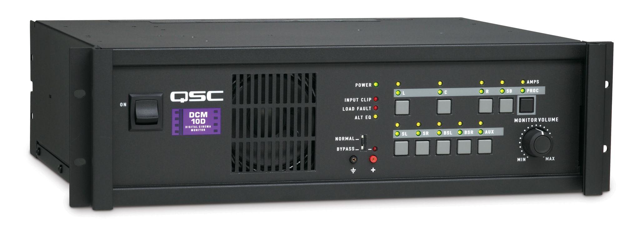 qsc Процессор и контроллер усилителей QSC Cinema  DCM-10D