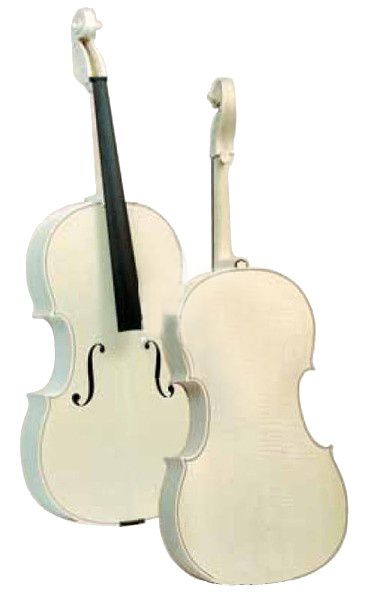 gliga Заготовка GLIGA Cello4/4Genial II white solid wood