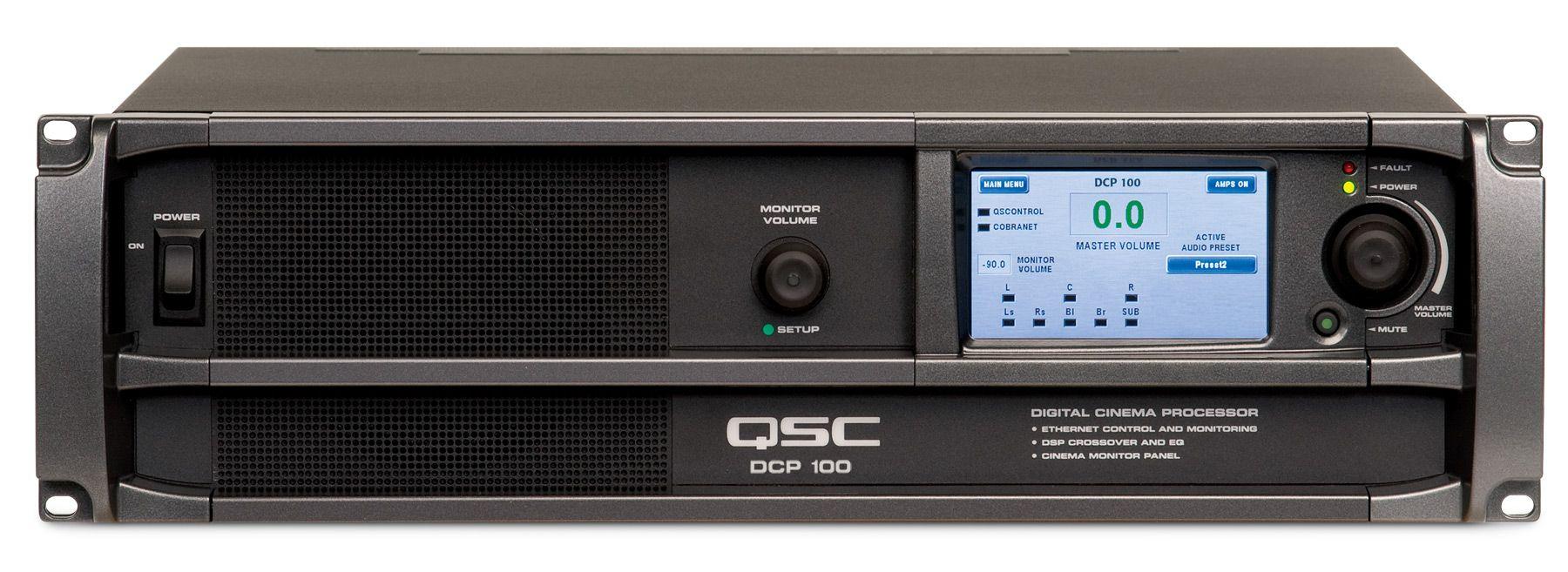 qsc Цифровой кинопроцессор QSC Cinema DCP 100