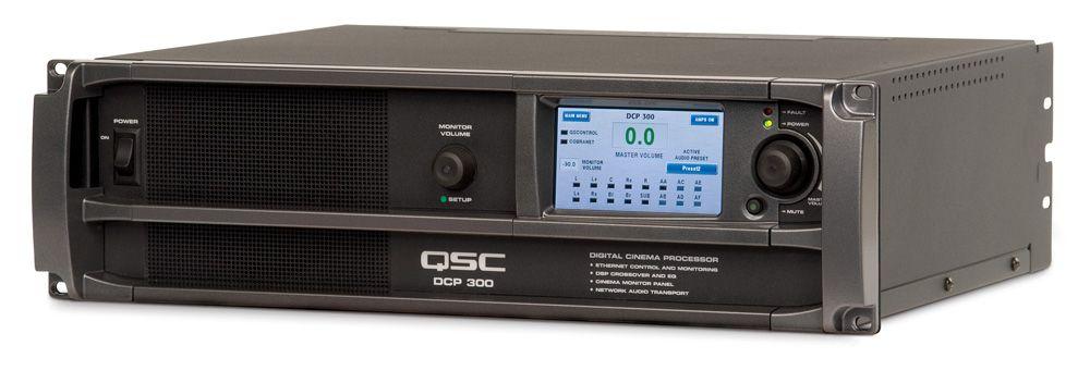qsc Цифровой кинопроцессор QSC Cinema DCP 300