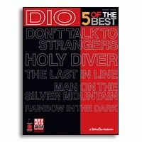 Hal Leonard 2500652 - Dio - 5 Of The Best - JCS.UA