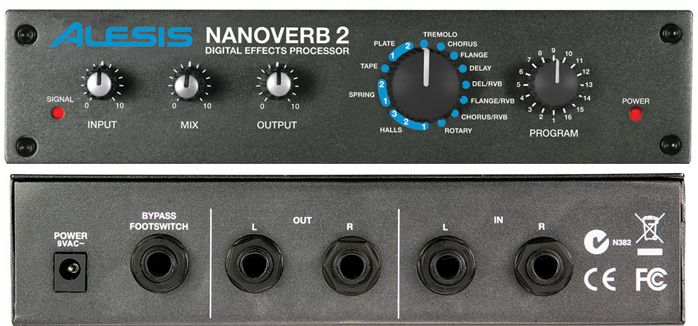 alesis Процессор эффектов Alesis Nanoverb2