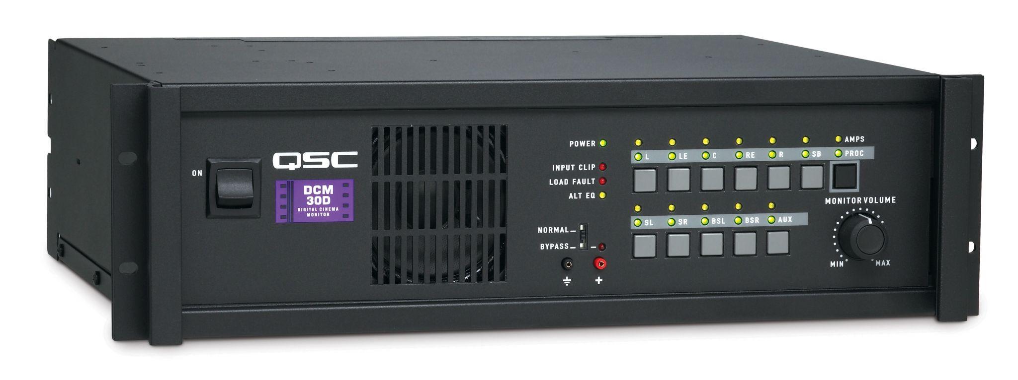 qsc Процессор и контроллер усилителей QSC Cinema  DCM-30D