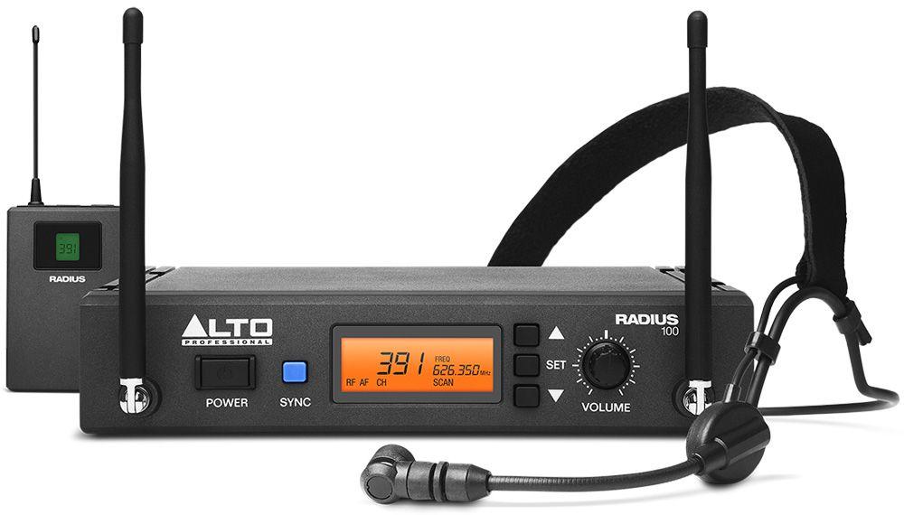 alto Радиосистема ALTO PROFESSIONAL RADIUS 100H