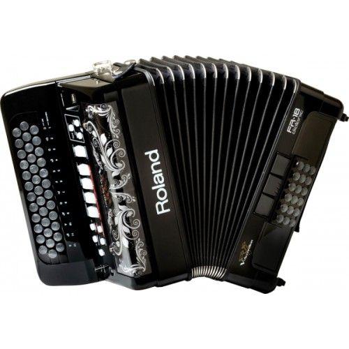 roland Цифровой баян Roland FR18DBK