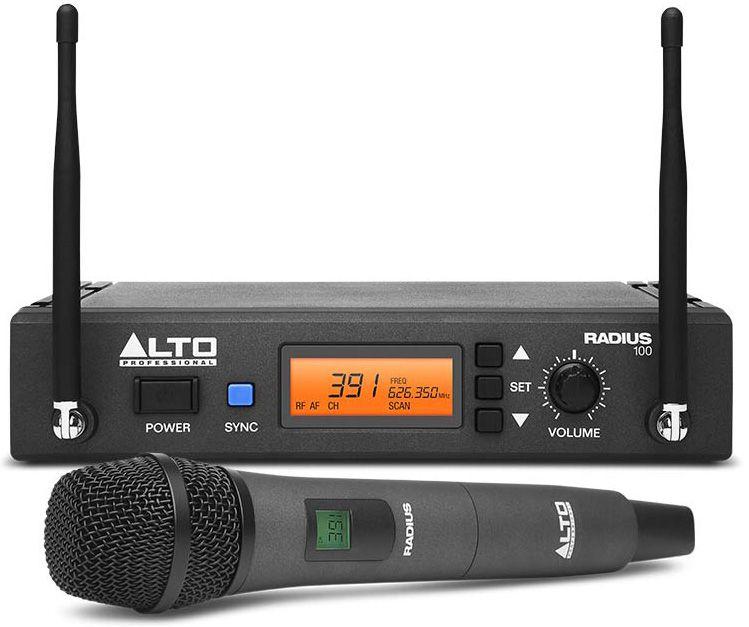alto Радиосистема ALTO PROFESSIONAL RADIUS 100