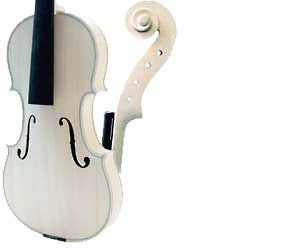 gliga Заготовка Violin3/4Gems I white