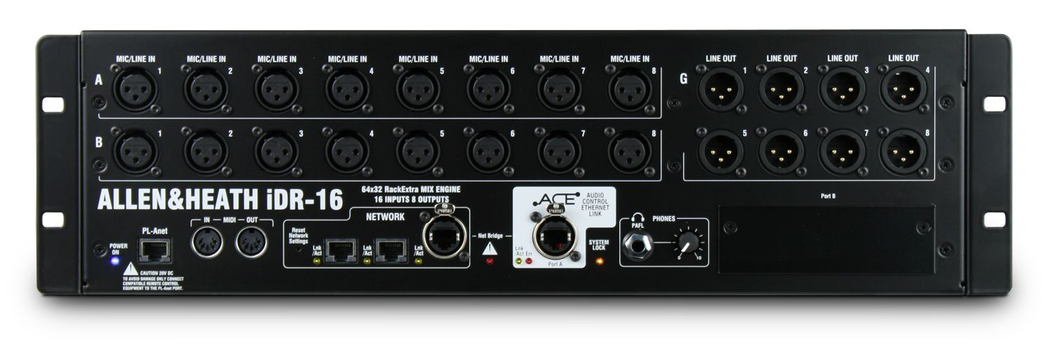 allen@heath Микшерный рэк Allen Heath iDR-16