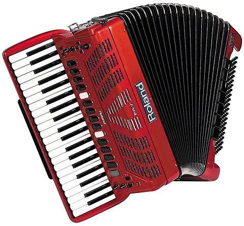 roland Цифровой аккордеон Roland FR7 RED