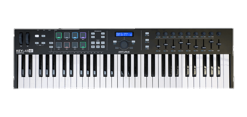 Arturia KeyLab Essential 61 Black Edition.png