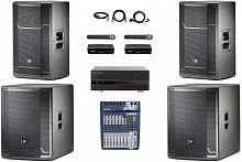 Караоке-комплект Evolution Club JBL PRX 100 - JCS.UA