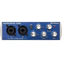 Аудиоинтерфейс Presonus AUDIOBOX USB 2x2