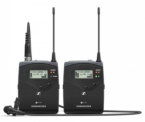 Радиосистема Sennheiser EW 112P G4 Portable Wireless Lavalier System - G Band - JCS.UA