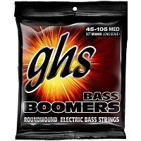 Струны GHS STRINGS M3045X BASS BOOMERS LONG+MEDIUM - JCS.UA