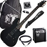 Гитарный комплект Schecter SGR SUNSET GUITAR PACK BLK - JCS.UA