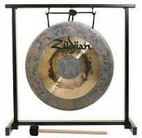 "Гонг ZILDJIAN 12"" TRADITIONAL GONG AND TABLETOP STAND SET - JCS.UA"