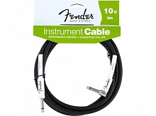 Кабель FENDER PERFORMANCE INSTRUMENT CABLE 10' ANGLED BK - JCS.UA