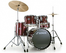 Ударная установка Sonor SMF 11 Studio Set (Wine Red) - JCS.UA