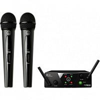 Радиосистема AKG WMS40 Mini2 Vocal Set BD US45A/C EU/US/UK - JCS.UA