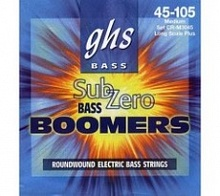 Струны GHS Strings CR-L3045 SUB-ZERO BASS BOOMERS LIGHT - JCS.UA