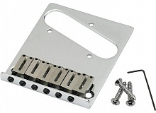 Бридж FENDER BRIDGE ASSEMBLY FOR AMERICAN SERIES TELECASTER CHROME - JCS.UA