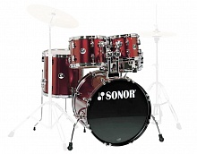 Ударная установка Sonor F 507 Studio 1 Drum Set (Wine Red) - JCS.UA