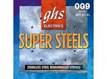 Cтруны GHS STRINGS ST-L SUPER STEELS - JCS.UA