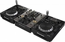 DJ комплект Pioneer 250PACK BLACK - JCS.UA