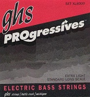 Струны GHS Strings XL8000 PROGRESSIVES - JCS.UA