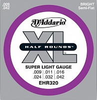 Струны D`ADDARIO EHR310 XL HLAF ROUNDS REGULAR LIGHT 10-46 - JCS.UA