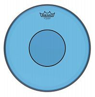"Пластик для барабана REMO POWERSTROKE 77 13"" COLORTONE BLUE - JCS.UA"