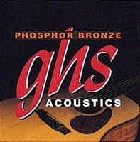 Струны GHS Strings S325 PHOSPHOR BRONZE - JCS.UA
