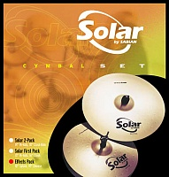 "Набор тарелок Sabian SOLAR Effects Pack (10""Splash+18""Chinese) - JCS.UA"